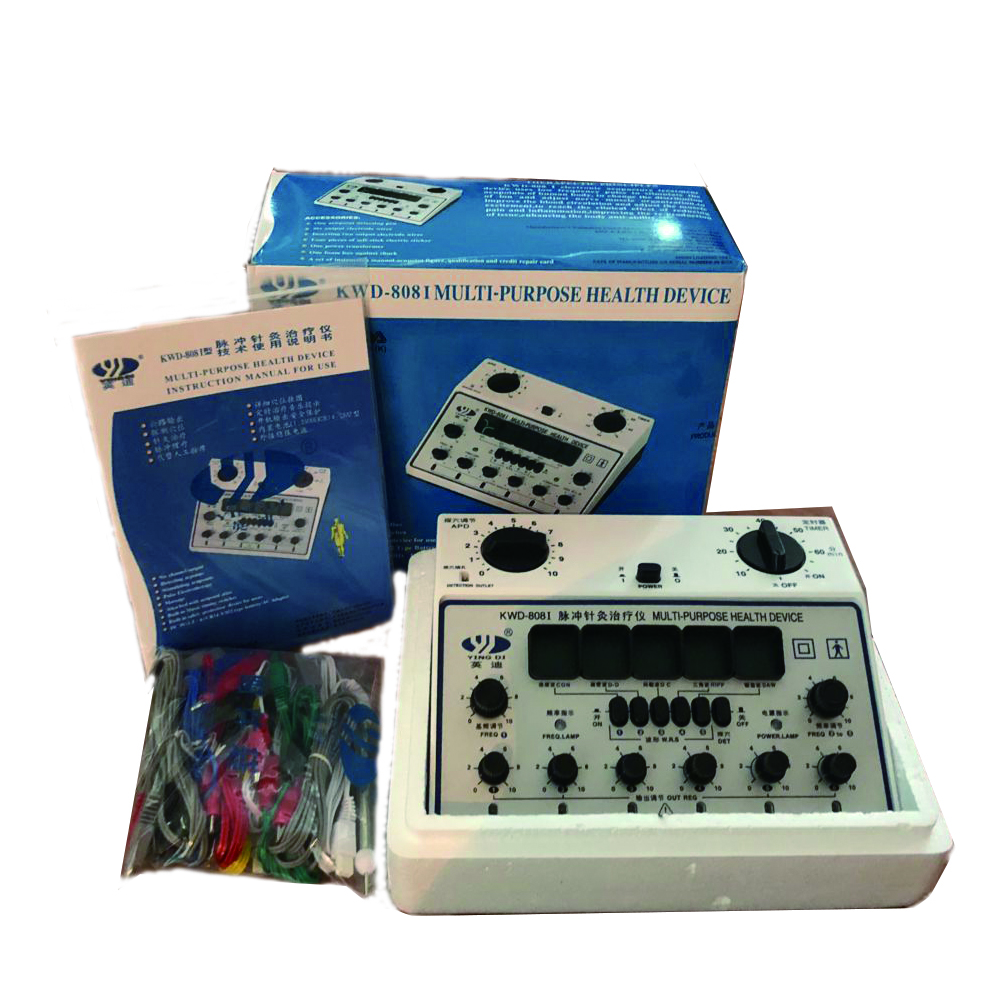 Yingdi Multi-Purpose Health <strong>Device</strong> Professional Electrical Acupuncture Stimulator KWD808-I 6 Channels Output TENS massager