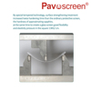 Pavoscren Mobile Phone Accessories 3D Full Size LCD Screen Tempered Glass Screen Protector For iPhone 6 / 6s Anti Fingerprint