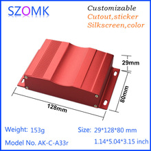 2015 New product aluminum electronic enclosure pcb junction box by szomk