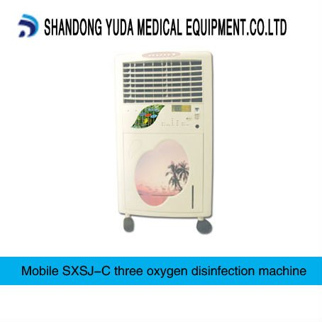 Movable type ozone disinfector