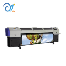 3.2m Flora F1 UV320 roll to roll UV printer with led lamp for printing banner