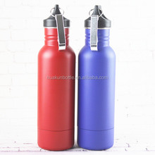 20oz single wall stainless steel cold keeper beer bottle insulator with bottle opener