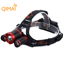 6000 lumen led headlamp rechargeable usb headlamp led for camping