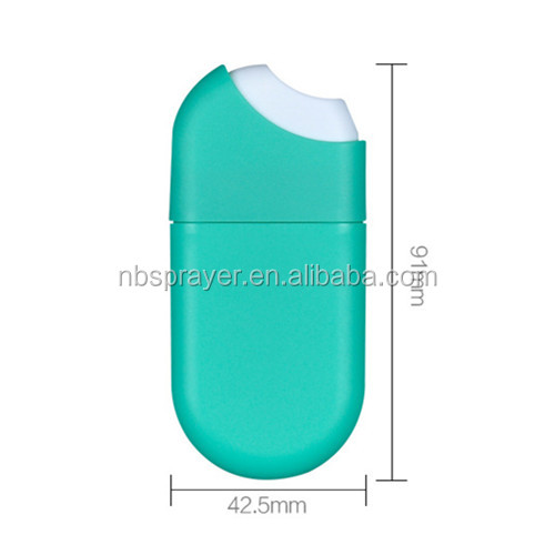 10ml 15ml 20ml PP spray bottle, hand sanitizer spray, perfume spray card type