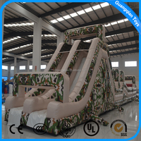 GuangQian Children Amusement Park Inflatable Giant Obstacle