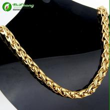 Fashion stainless steel 14k gold chain for jewelry making