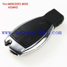 Car Key 3 button 315mhz 433mhz for MERCEDES BENZ electric key smart card remote control