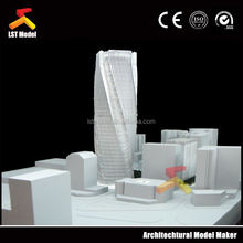 refined handmade making architectural model for Indian real estate project