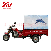 Top Quality 200cc 3 Wheeled Motorcycles / 3 Wheeled Cars /Gasoline passenger tricycle