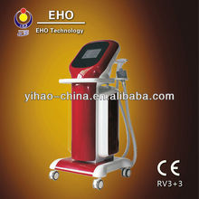 vacuum Multipolar radiofrequency with light led skin tighten device