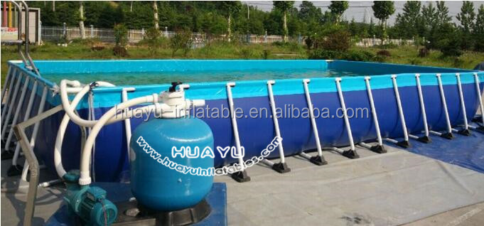 Hot selling giant inflatable pool/durable small round pool/Exercise Swimming Pool with Filter