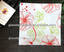 tempered glass plate, lead free dinnerware