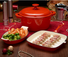 Cast iron Wholesale Cookware With Enamel Coating