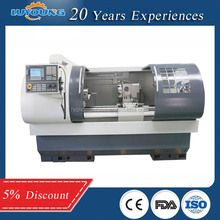 Three gears stepless speed regulation cnc long bed lathe machine CK6150