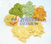 Sheenbow gold series pearl luster pigment for Ceramic