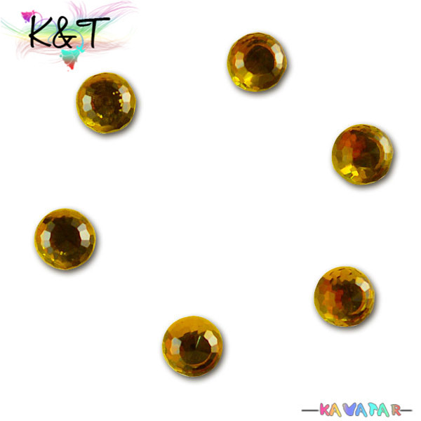 360 degree round shape topaz glass crystal beads wholesale