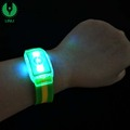 Custom Cheap National Flag Led Flashing Wrist Band With Sports Meeting