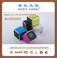 MUSIC ANGEL JH-MD06BT cube speaker bluetooth speaker colorful wholesale cell phone accessories