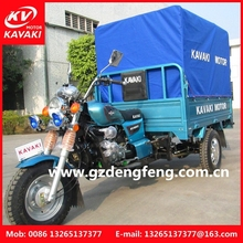 Three Wheel Passenger Cabinet Cargo Motorcycle carry food fruit car tricycle