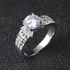 OB Jewelry-Fashion Engagement Jewelry Antique 925 Sterling Silver Rings Jewelry For Women
