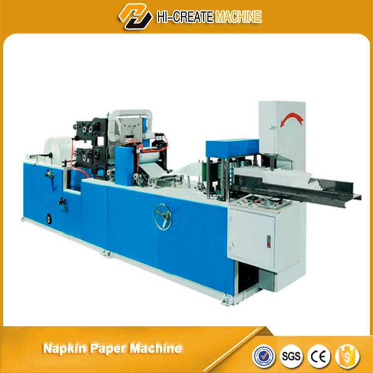 N Folding paper napkin making machine price