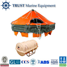 Davit-launched rigid type cheap Inflatable Life raft
