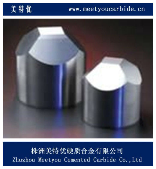 Cemented carbide anvil with Multi-faceted angles for pressuring diamond