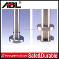 inox 304 balustrade base plate with base cover 2 inch