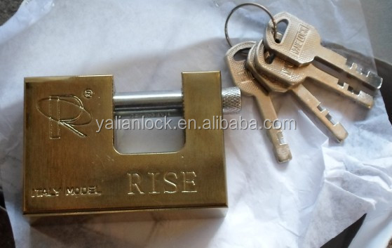 Top security 70mm disc rectangle lock