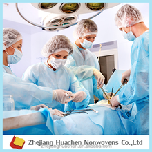 Zhejianghuachen 9-270gsm PP medical use spunbond healthy nonwoven fabric