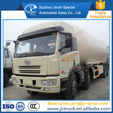 Most famous FAW 34.5m3 8x4 lpg gas tank truck distribution price