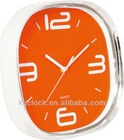 Clock Spring Wall WH-6850A Orange Dial