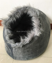 Animal accessories supplier Latest Desgin Shoe Shape Luxury Pet House Dod Cave Cat Cave/Cat Bed