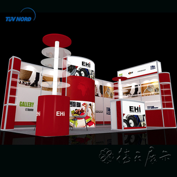 Aluminium recycle modular exhibition booth for trade show exhibition display