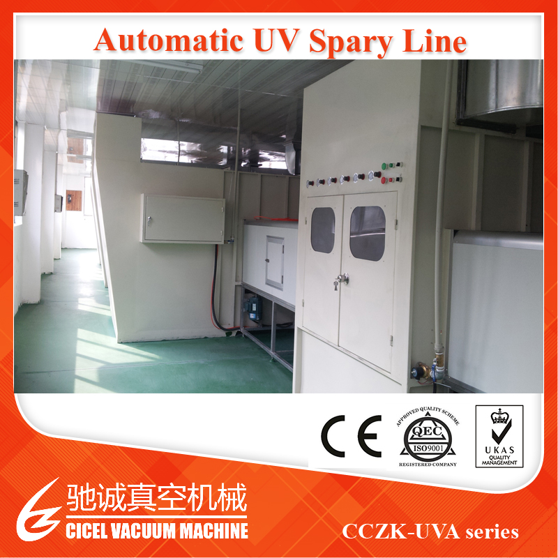 Vacuum Coating Equipment UV Spray Coating Paint