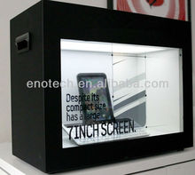 Best Price for 22'' Transparent LCD display for <strong>advertising</strong>, product show