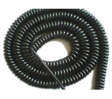 Direct selling PU coated spiral cable for door safety edge