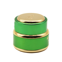 supplier sales empty eco friendly aluminum cosmetic containers cosmetic jar seal for cream
