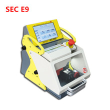original automatic key cutting machine sec-e9 for locksmith for locksmith sec e9 key cutting machine Multi-Language version