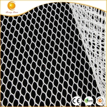 Cheap 100 polyester tricot hexagonal mesh fabric roll