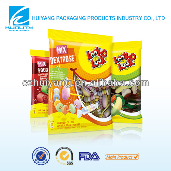 Small fast food packaging material for candy