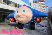 2016 New design vivid funny inflatable plane Jay Jay The Jet Plane C-210