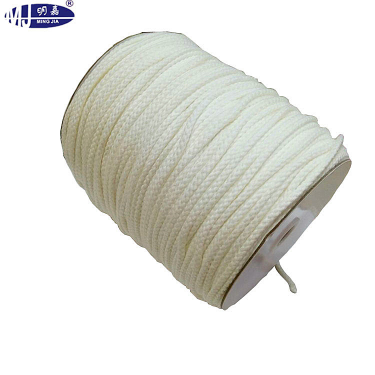 multi colored 100% braided cotton cord for decoration