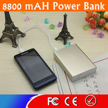 8800mAH Li-ion Battery Power Bank For Iphone/Samsung/Nokia/HTC