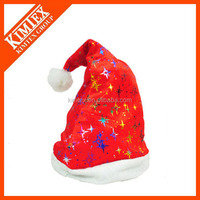 New Hot Sale Felt Decorated Santa Hats Wholesale