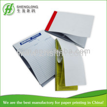 color printing duplicate carbonless docket book