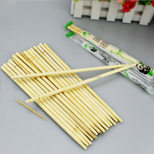Disposable Natural Round Bamboo Chopsticks with OPP Packing