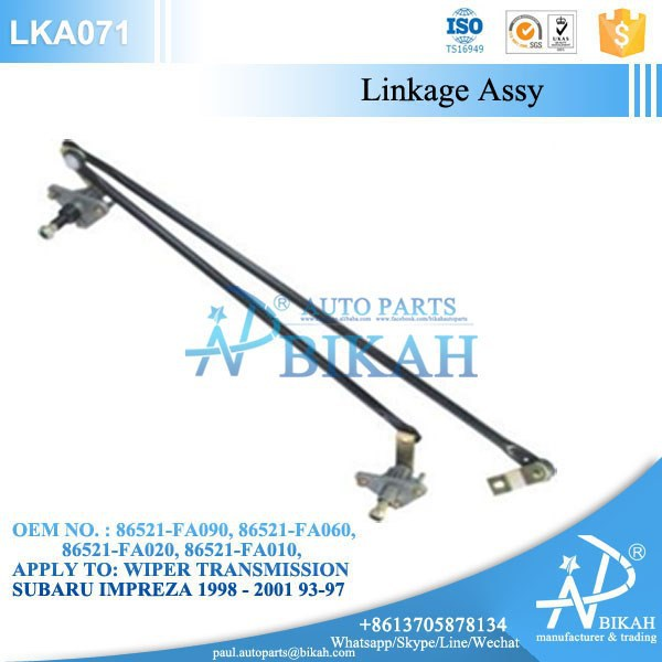 Wiper Linkage assy for SUBARU IMPREZA 1998 - 2001