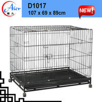 dome house expanded metal dog cage
