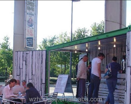 Convenient Mobile Prefab Modified Container Coffee House/Bar